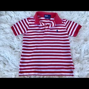 Polo by Ralph Lauren 2/2T striped polo